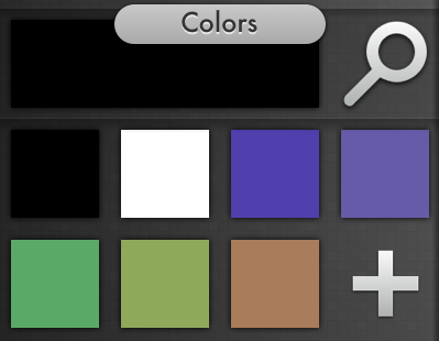 Inkist color palette