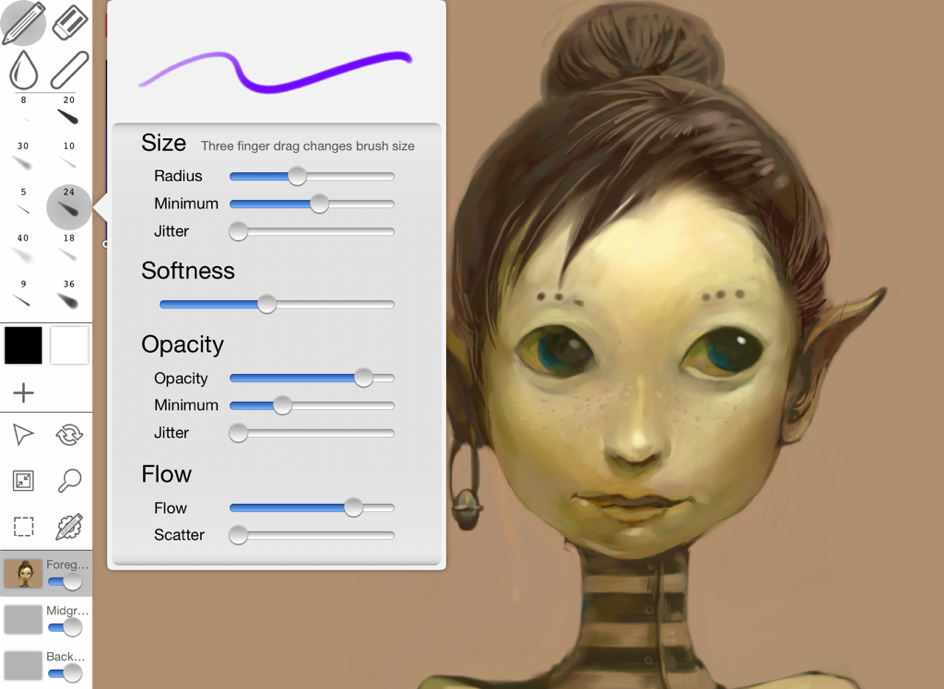 inkist brush preview